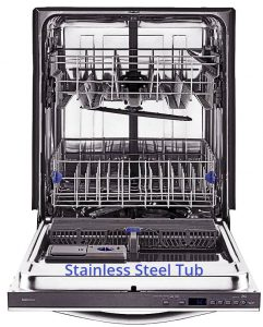 Dishwasher Stainless Steel Tub