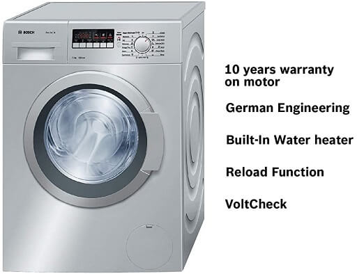 Bosch 7 Kgs Model No WAK24268IN features