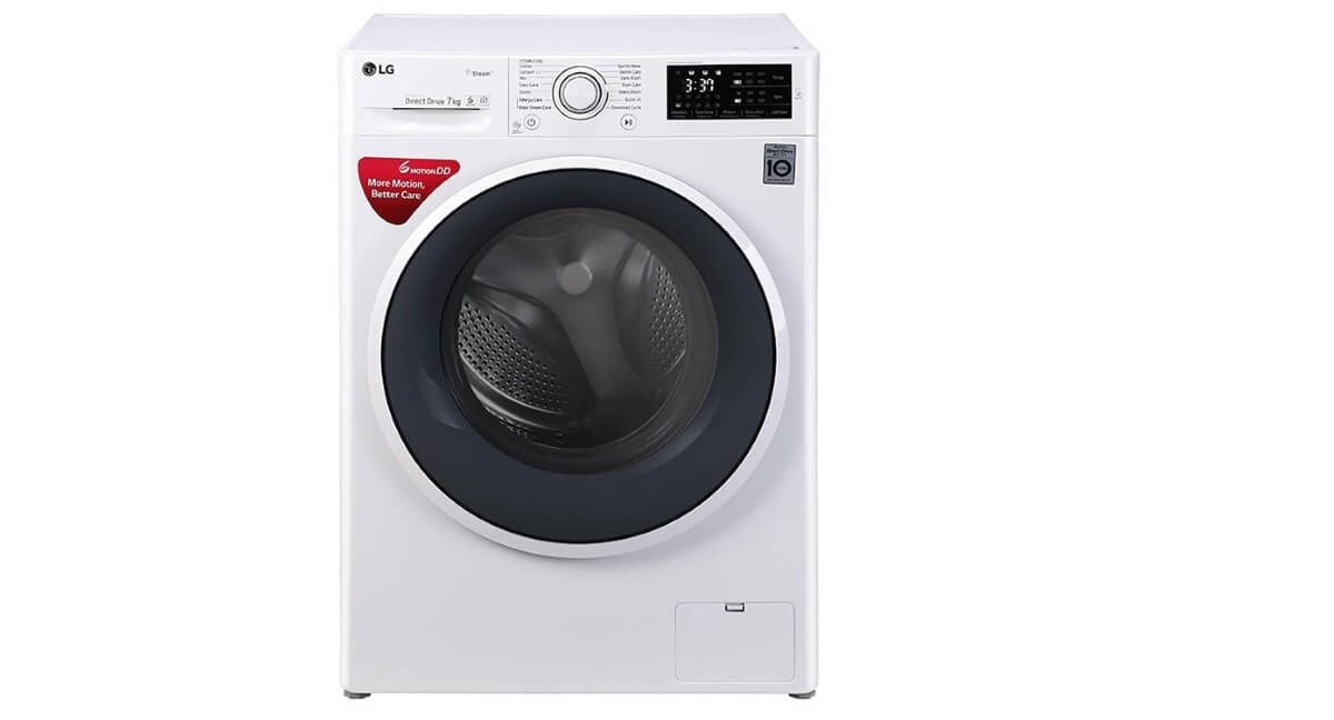 LG FHT1007SNW 7 kg Inverter Fully-Automatic Front Loading Washing Machine
