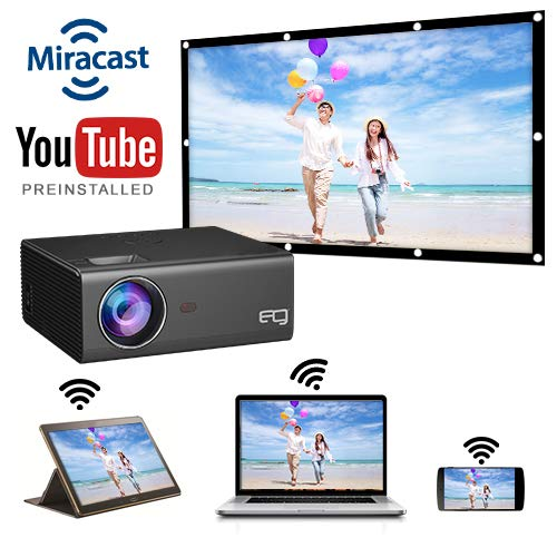 EG Miracast 6x best projector for home under 10000